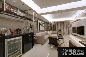 现代时尚风格豪华客厅设计效果图