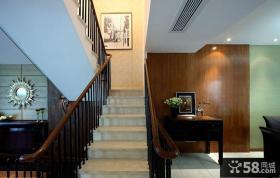 复式楼客厅楼梯设计
