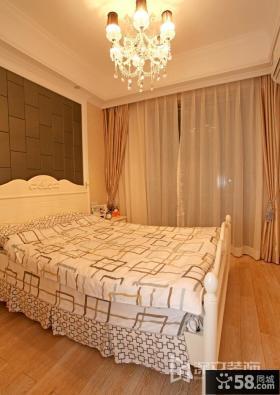 温馨简欧式卧室装修效果图
