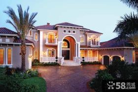 地中海建筑风格别墅外观