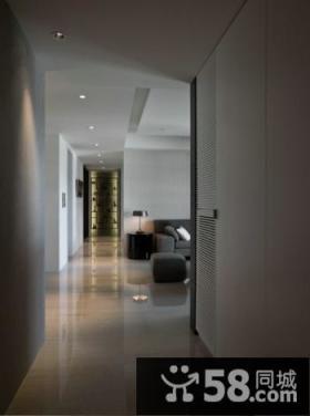 现代风格三居室装修设计图