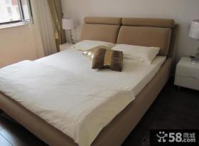 简约风格卧室床头装修效果图