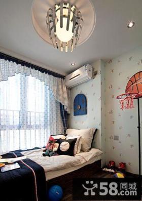 现代设计小户型卧室装饰效果图片