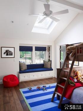 双层儿童房飘窗装修效果图