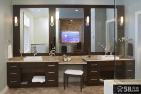 美式卫生间装修图片