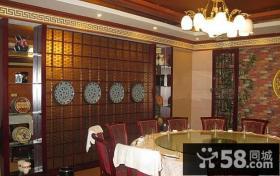 中式饭店装修效果图