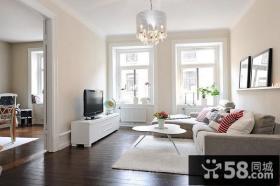 80㎡小户型客厅装修效果图大全2014图片