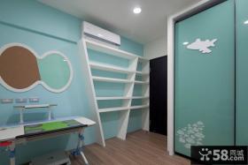 现代儿童房局部装修