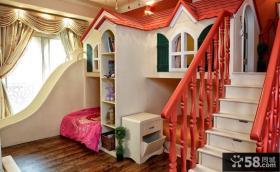 东南亚风格小公主儿童房装修效果图