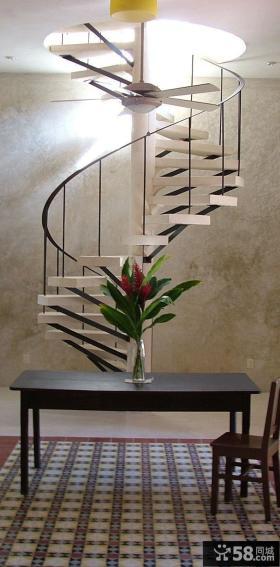 家装旋转楼梯设计图