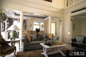 简欧风格别墅客厅设计家装图片