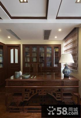 古典中式书房装潢设计