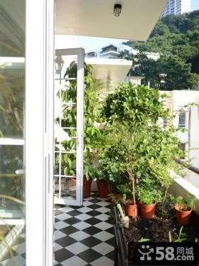 50平米小户型装阳台装修效果图