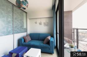 地中海复式阳台设计图片