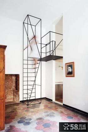 钢构楼梯设计效果图