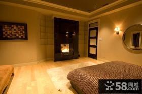 40万打造豪华欧式风格复式卧室装修效果图大全2014图片