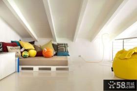 简约风格复式阁楼装饰效果图片