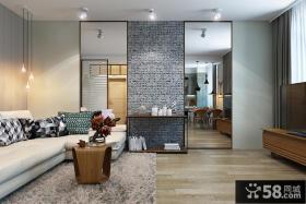 现代时尚客厅装修案例