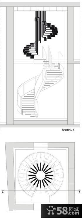 小户型复式楼梯