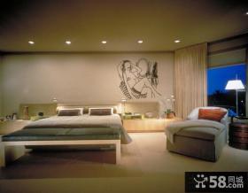简约别墅卧室装i许效果图大全2012图片 简约风格装修卧室图片