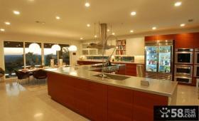 复式楼装修效果图 经典厨房欣赏