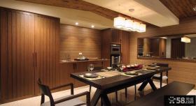 中式家装餐厅图欣赏