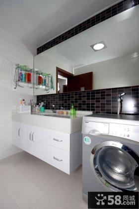 现代风格卫生间浴室柜图片大全