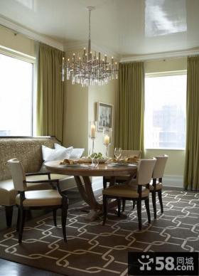 餐厅地毯装修效果图大全2012图片