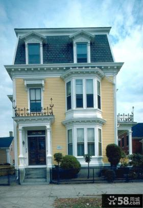 欧式建筑风格小别墅图片