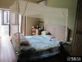 简约中式主卧室装修效果图欣赏