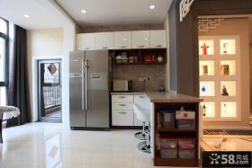 现代家居吧台设计装修