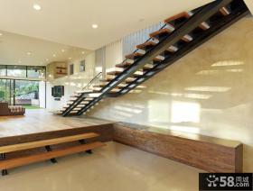 美式设计装修楼梯图片欣赏大全