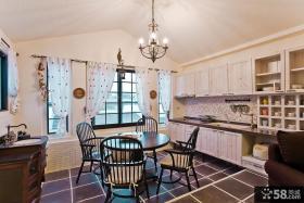 美式复式楼家庭公寓装修效果图欣赏
