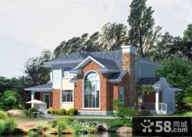 美式别墅庭院设计平面图
