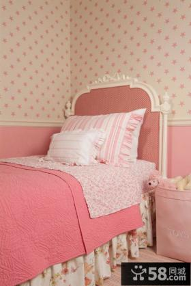 欧式卧室墙纸效果图