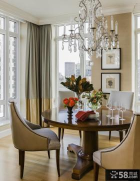 时尚美式度假公寓室内装修效果图