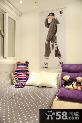简欧式创意卧室装修案例