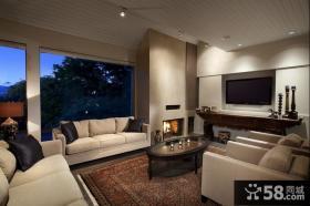 优质款流行客厅电视背景墙效果图