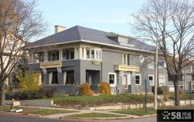 别墅现代主义建筑风格设计