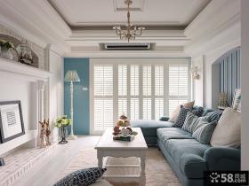 法式风格别墅客厅装修图