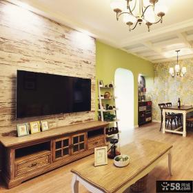 美式风格两居室装修创意图