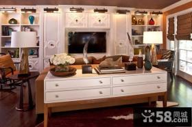 9万打造时尚欧式风格厨房橱柜装修效果图大全2014图片