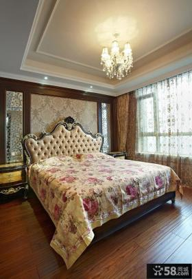 欧式时尚卧室吊顶图欣赏