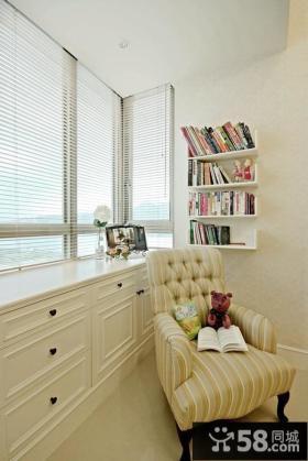 简欧复式家装窗户设计效果图片