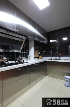 现代风格厨房橱柜装修设计图片欣赏