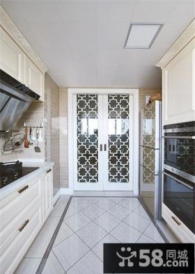 现代明亮厨房装潢设计