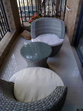 休闲阳台布置效果图片
