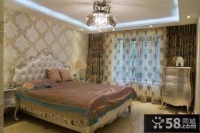 豪华欧式设计卧室效果图