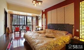 古典红木中式卧室设计