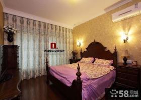美式10平米主卧室装修效果图欣赏